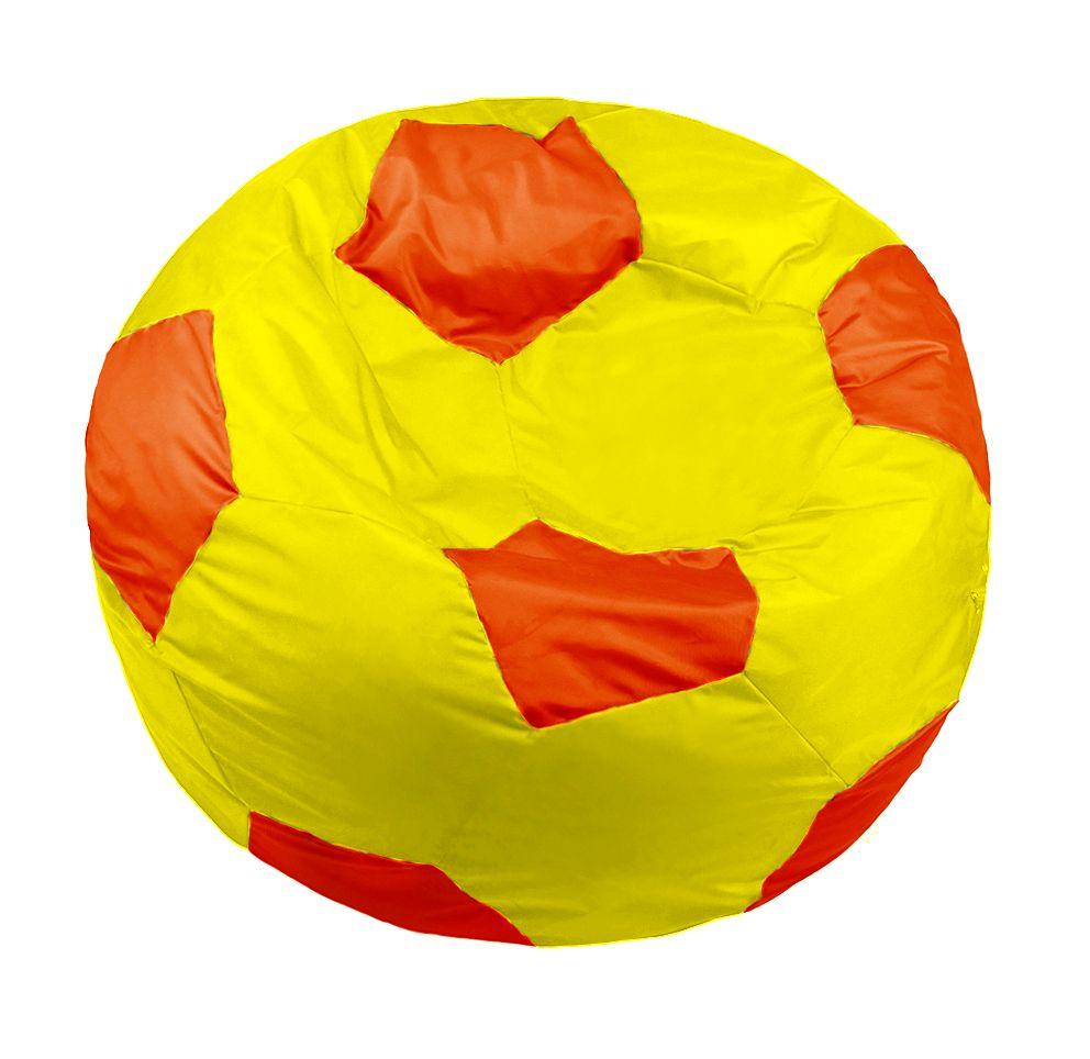 Кресло-мяч Pazitif Мяч Пазитифчик, размер XL, оксфорд, желто-оранжевый фото