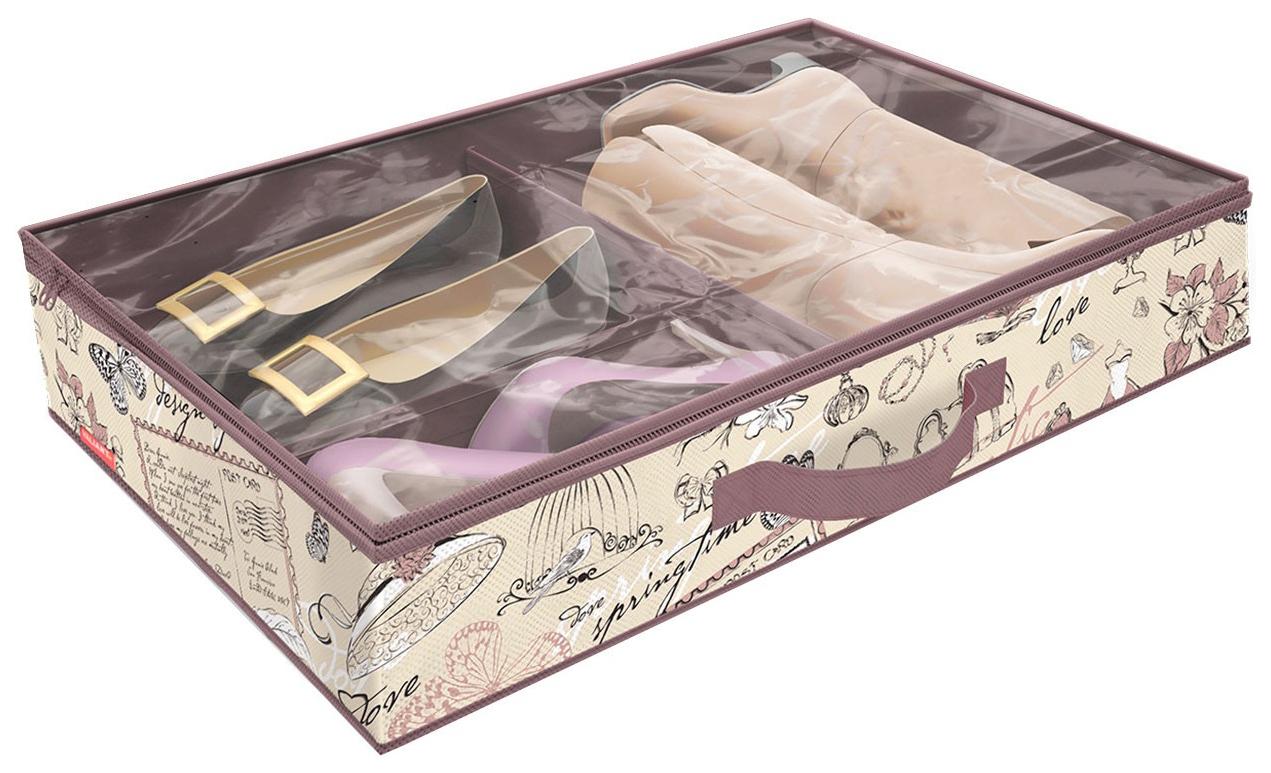 Кофр для хранения обуви Hoff Romantic