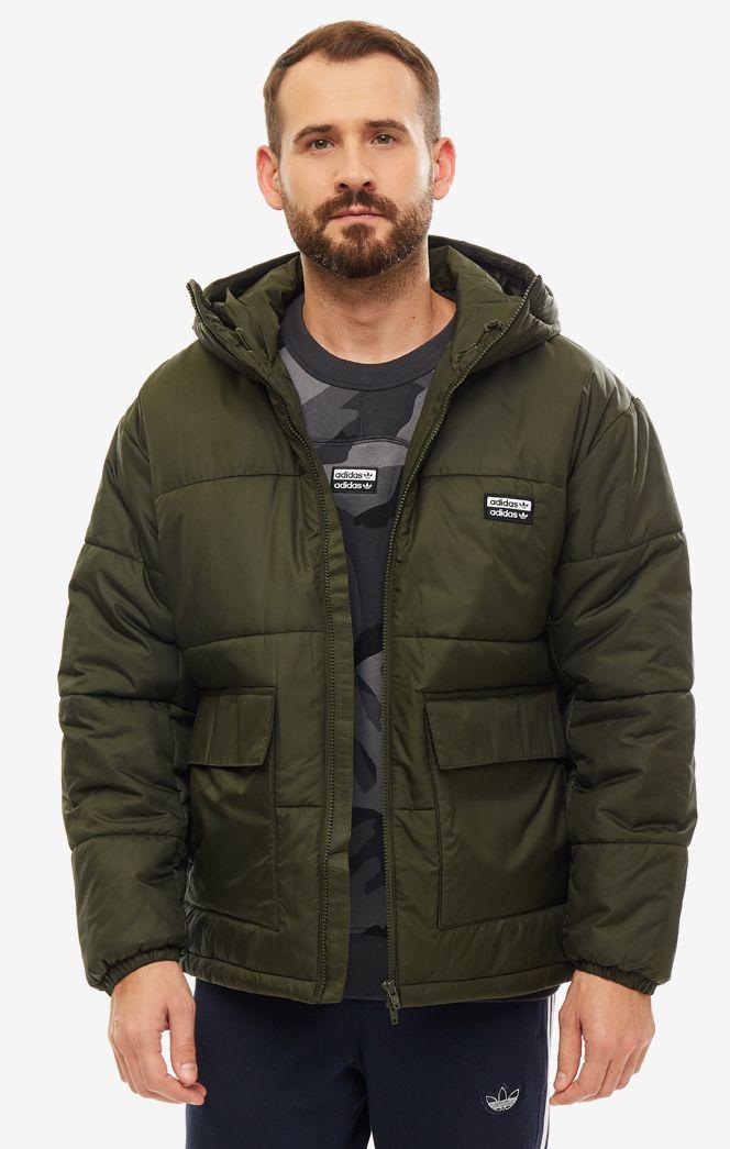 Куртка мужская adidas Originals ED7219 хаки S