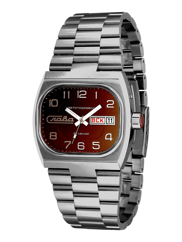 Наручные механические часы Слава Телевизор 7626026/100-2427 фото