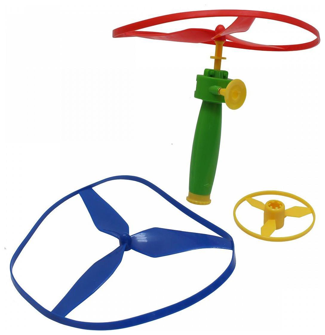 Игрушка-запускалка 1toy с мягкими дисками фото