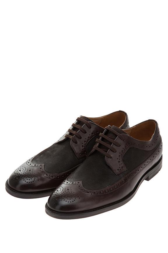 Туфли мужские Clarks коричневые