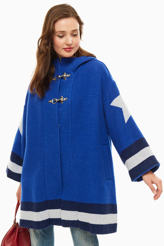 Пальто женское Pinko синее