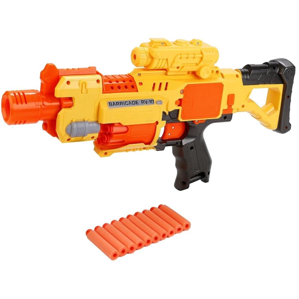 Бластер автоматический Raging Fire 7006 с мягкими стрелами