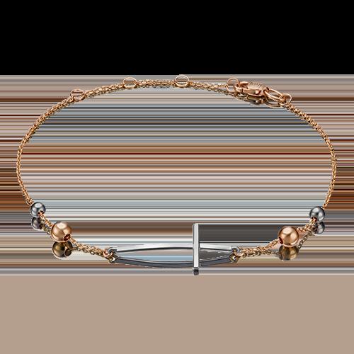 Браслет из золота PLATINA jewelry 05-0583-00-000-1111-63_16-20,5