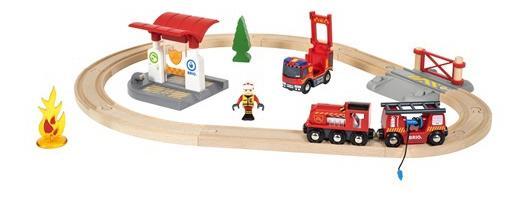 Набор Brio Пожарная станция 33815