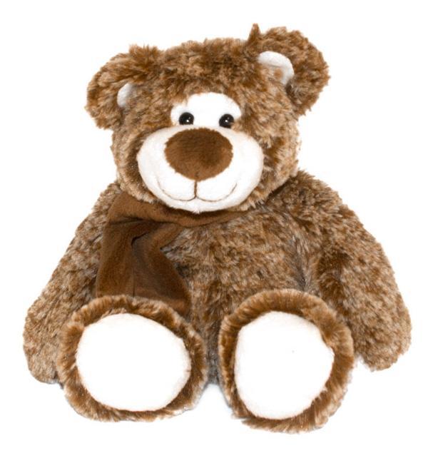 Купить Мягкая игрушка Button Blue Мишка Дикки, 18 см, Мягкие игрушки животные