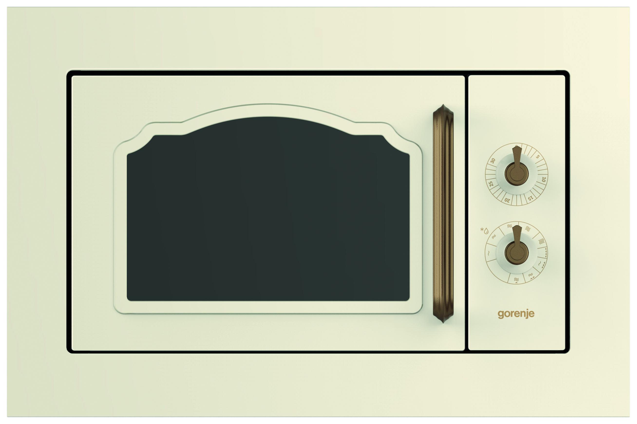 Встраиваемая микроволновая печь с грилем Gorenje Classico BM235CLI 567143 фото