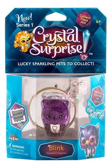 Купить Сова, Crystal surprise 45709 кристал сюрприз фигурка сова + браслет и подвески,