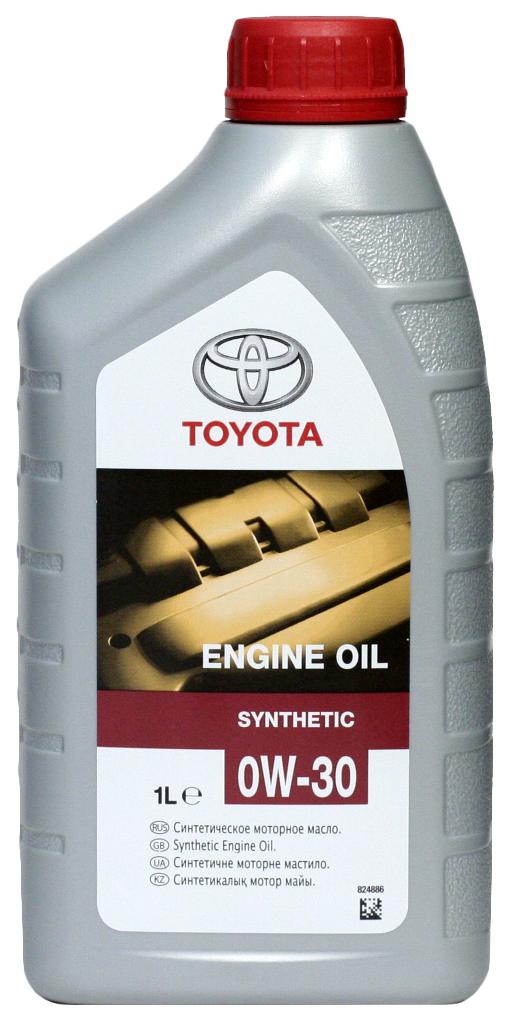 Моторное масло Toyota Synthetic A3/B3/B4 SL/CF 0W-30 1л