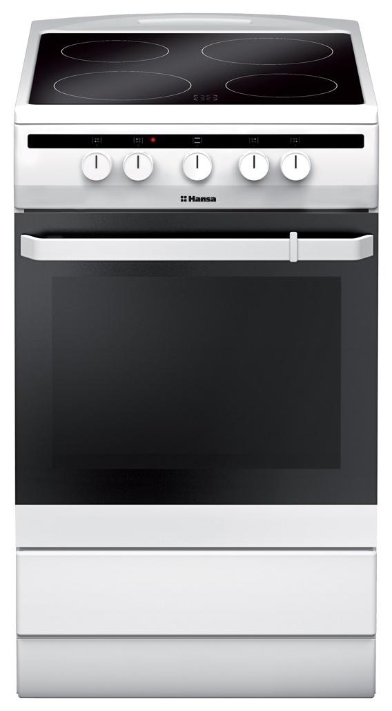 Электрическая плита Hansa FCCW54002 White