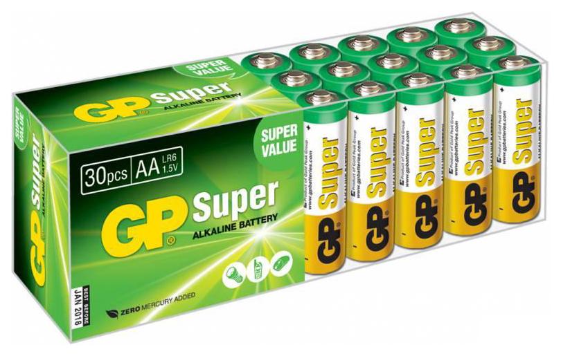 Батарейка GP Batteries 15A B30 30 шт