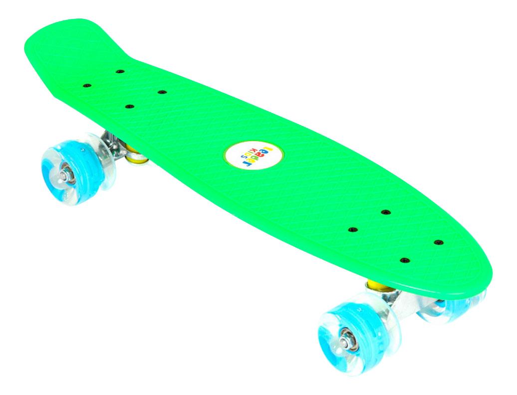 Скейтборд Leader Kids зеленый