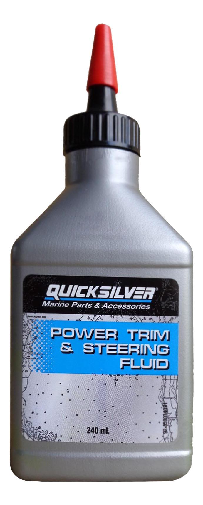 Гидравлическое масло Quicksilver 0.24л 92 858074QB1