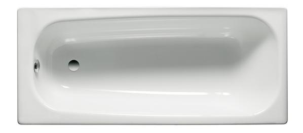 Стальная ванна Roca Contesa 100х70 без гидромассажа