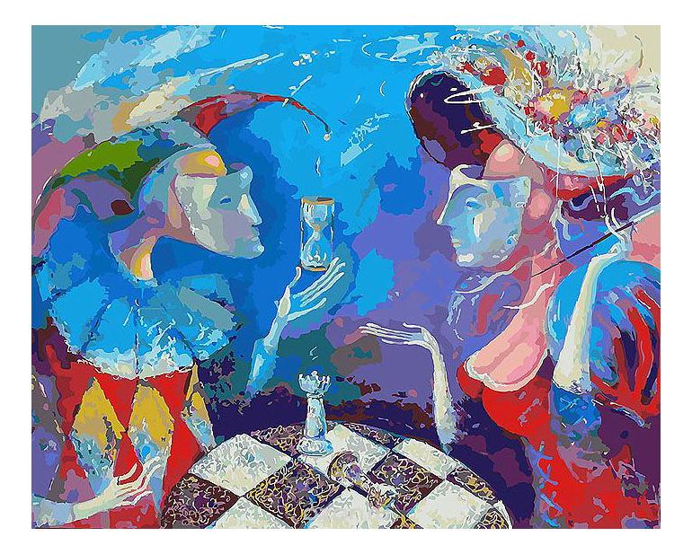 Раскраска по номерам Белоснежка Партия или вся жизнь игра