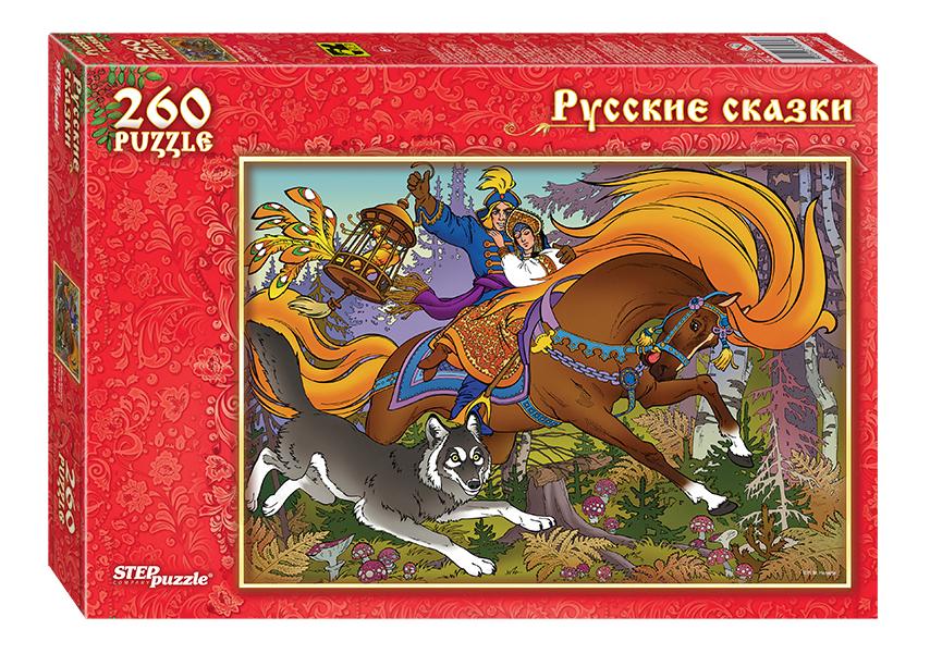 Пазл STEP puzzle Иван-Царевич и Серый Волк 260Д фото
