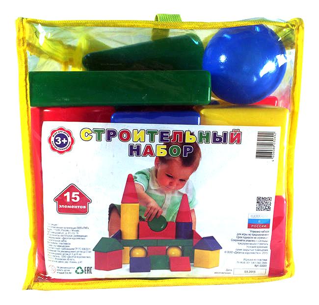 Конструктор пластиковый Десятое королевство Строительный набор 15 элементов