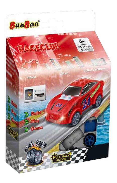 Конструктор пластиковый BanBao Машина красно-зеленая