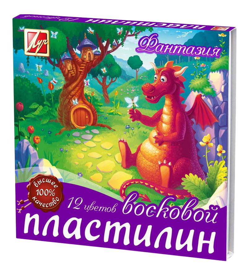 Пластилин ЛУЧ Фантазия 12 цветов 25С1523-08