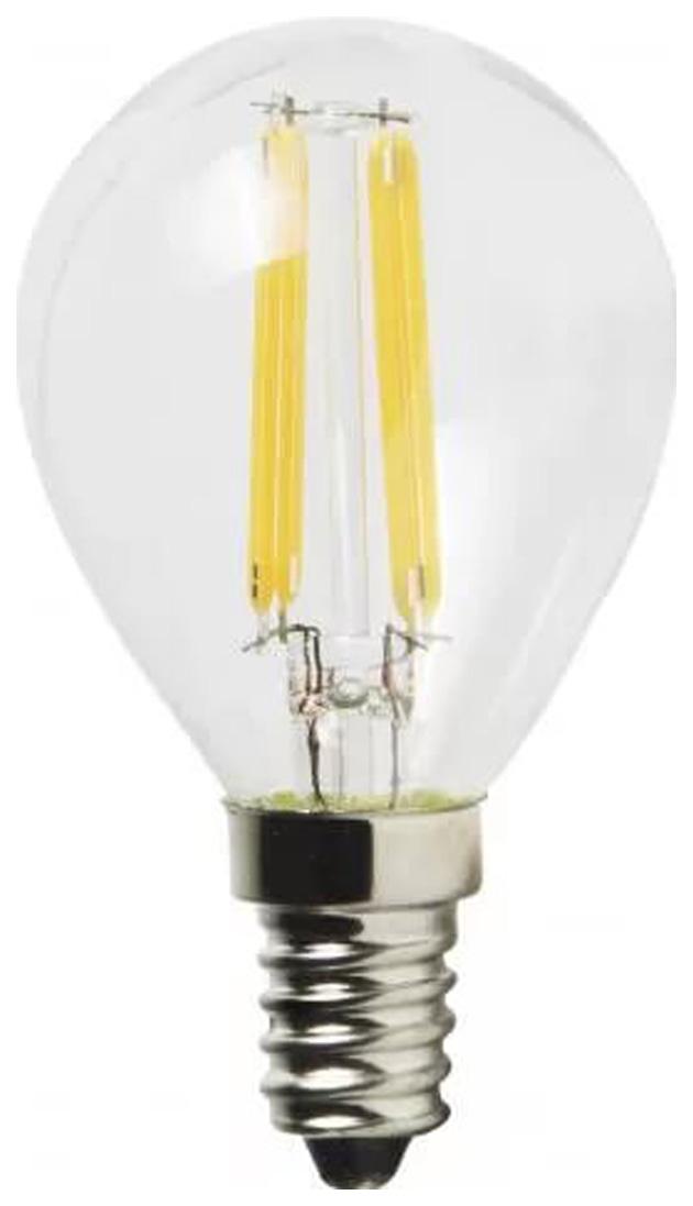 Лампа светодиодная (UL-00001371) E14 6W 4000K шар прозрачный LED-G45-6W/NW/E14/CL PLS02WH