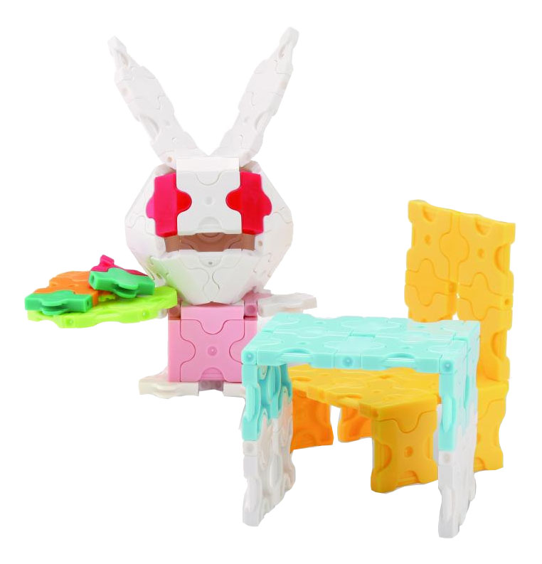 Конструктор пластиковый LaQ Bunny.