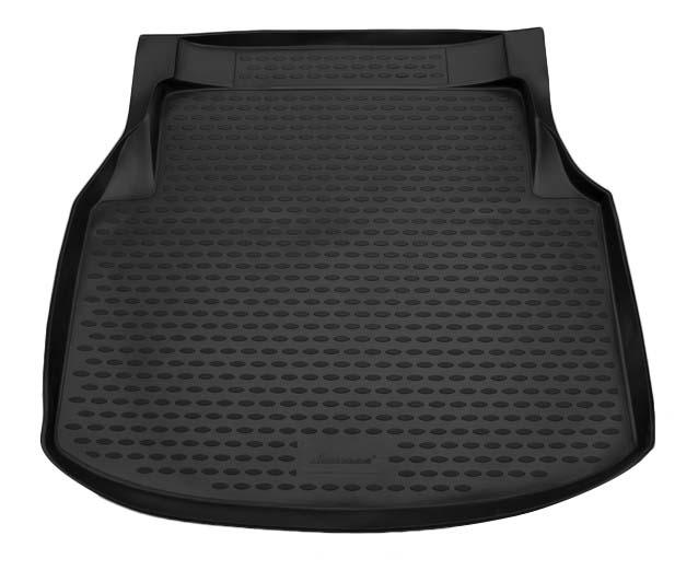 Коврик в багажник MERCEDES-BENZ С-Class W204 2007-2014, сед, (полиуретан)