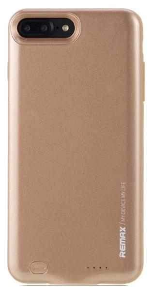 Чехол + АКБ Remax Penen PN-02 для Apple iPhone 7 Plus Золотистый