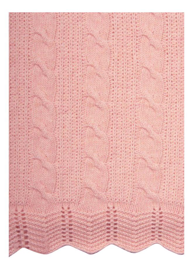 Плед Luxberry Imperio 93 75 х 100 см розовый