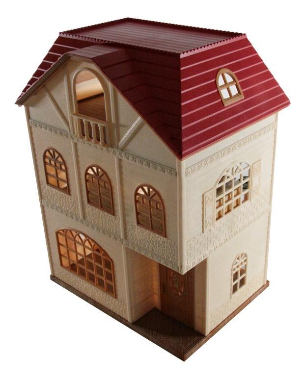 Игровой набор Sylvanian Families Трехэтажный дом фото