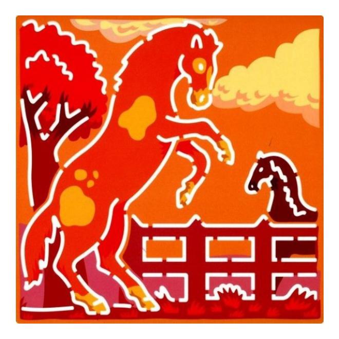 Набор для рисования Djeco Лошади