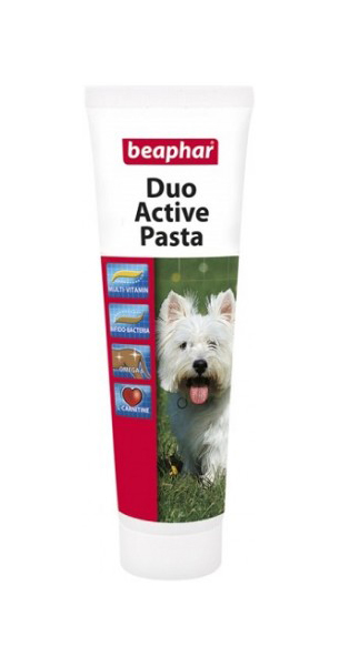 Витаминизированная паста для собак Beaphar Duo Active,