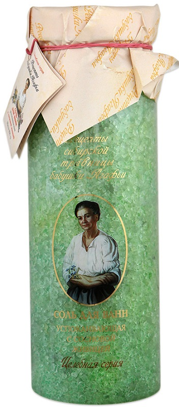 Соль для ванны Рецепты бабушки Агафьи 'Успокаивающая',