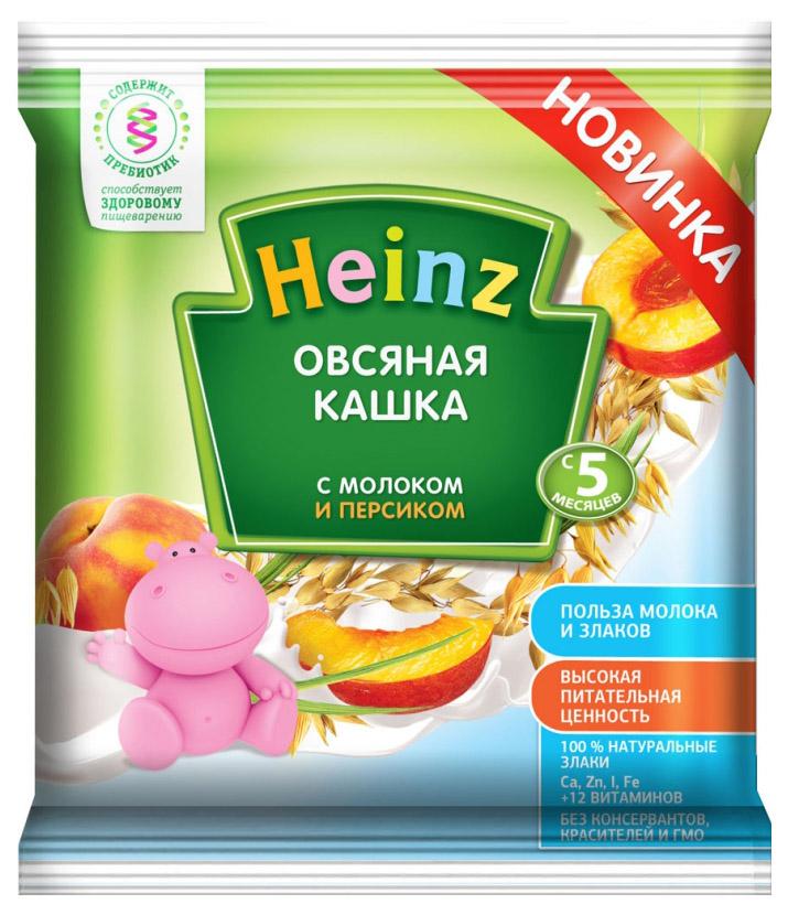 Каша молочная Heinz Овсяная с персиком с 5 мес. 30 г