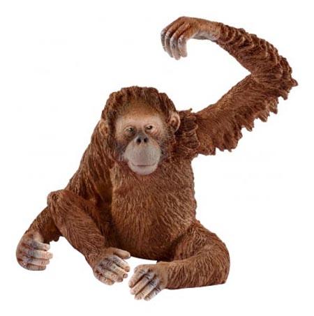 Купить Фигурка животного Schleich Дикая жизнь Самка орангутана, Фигурки животных