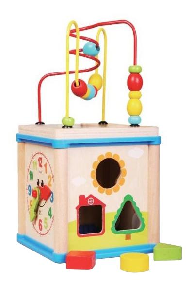 Купить Деревянная игрушка для малышей Mapacha Суперкуб, Развивающие игрушки