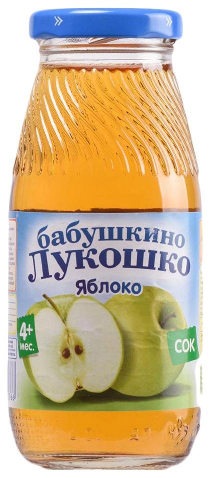 Купить Сок Бабушкино Лукошко Яблоко 200 мл, Детские напитки