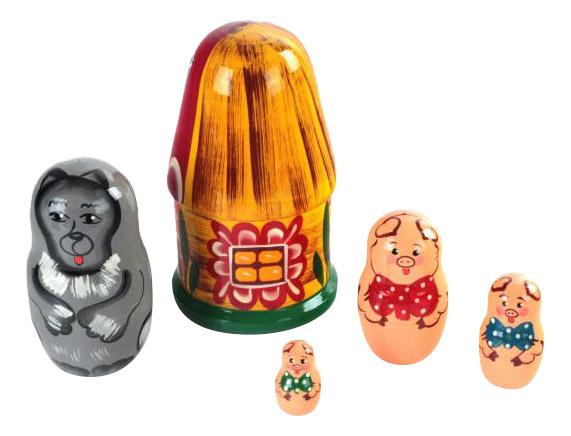 Купить Развивающая игрушка Бэмби 3 поросенка, ТД Бэмби,
