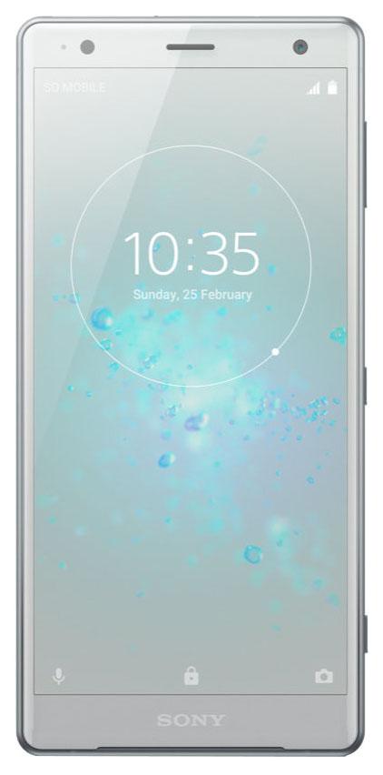 Смартфон Sony Xperia XZ2 DS 64Gb Silver (H8266)
