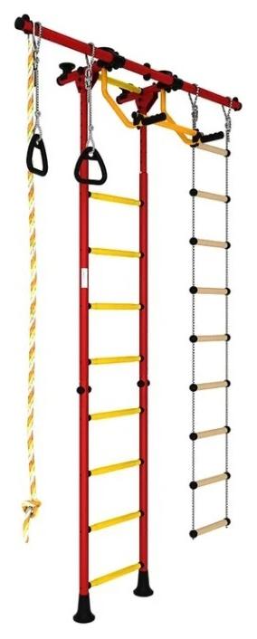 Спортивный комплекс Romana Karusel R55 ДСКМ-2-8.06.Г5.410.01-12 красный жёлтый