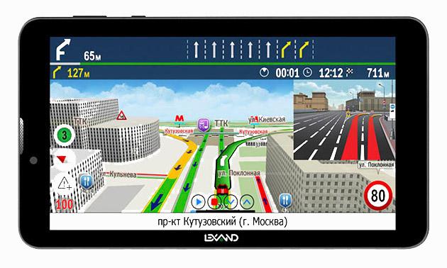 Автомобильный навигатор Lexand SC-7 ProHD Прогород фото