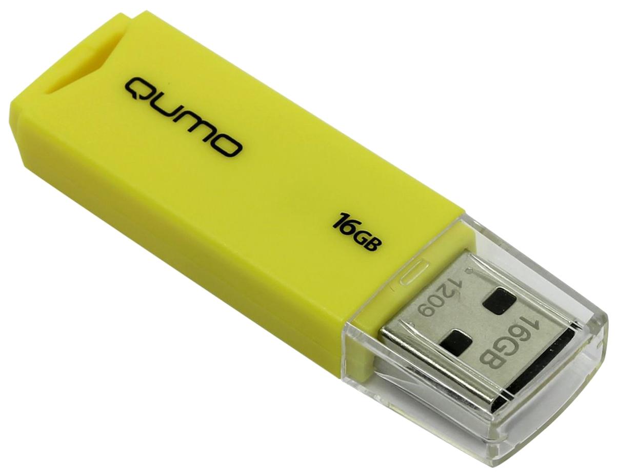 USB-флешка QUMO Tropic 16GB Yellow