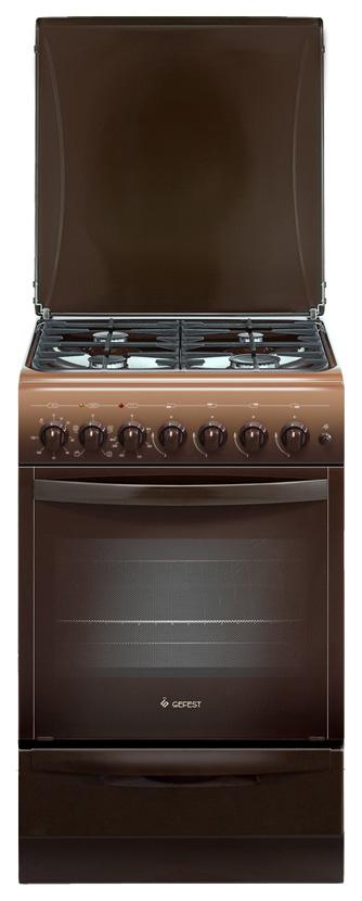 Комбинированная плита GEFEST ПГЭ 5102-02 0001 Brown