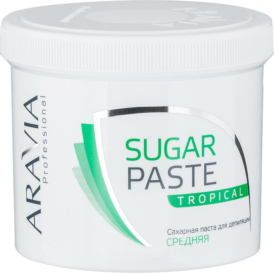 Паста Aravia Professional для депиляции средней консистенции