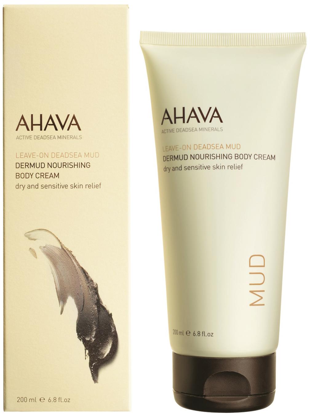 Купить Питательный крем для тела Ahava Leave-on Deadsea Mud Dermud Nourishing Body Cream 200 мл
