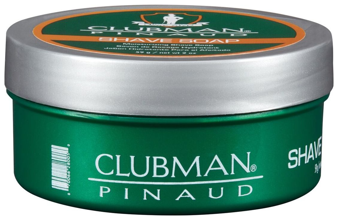 Мыло для бритья Clubman Shave Soap натуральное
