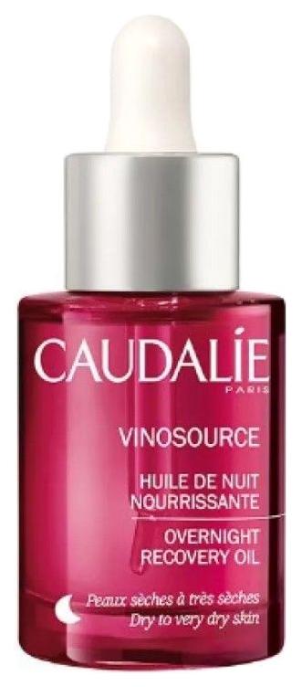 Масло ночное Caudalie Vinosource Overnight Oil восстанавливающее,