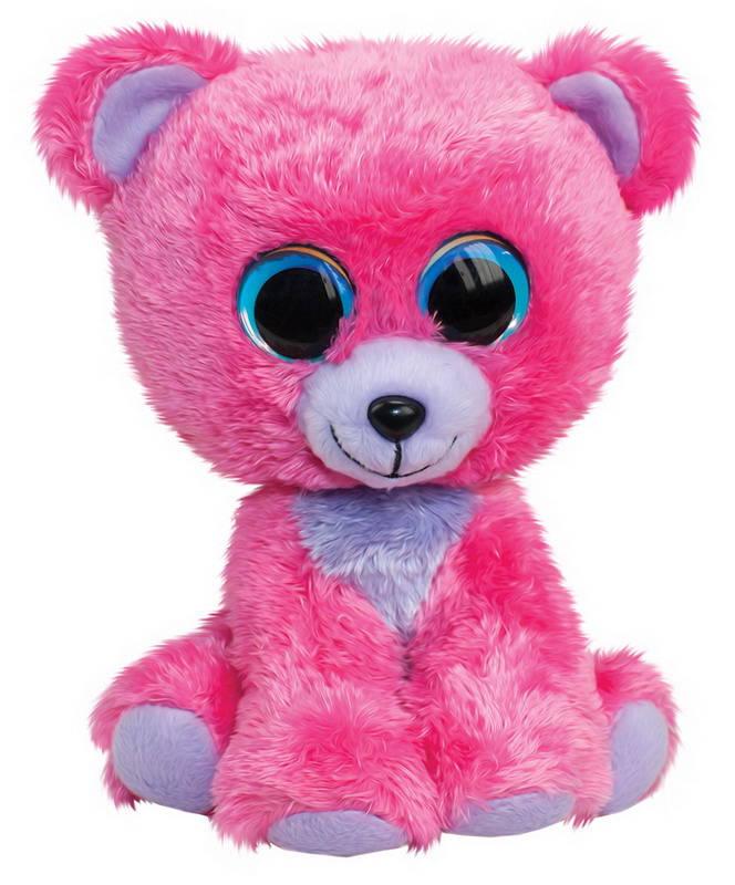 Купить Мягкая игрушка Tactic Мишка Raspberry, розовый, 15 см, Мягкие игрушки животные