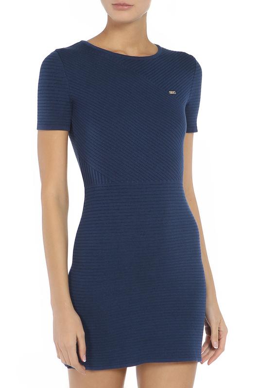 Платье женское U.S. Polo Assn. G082SZ0TE0RUSTA VR033 синее L