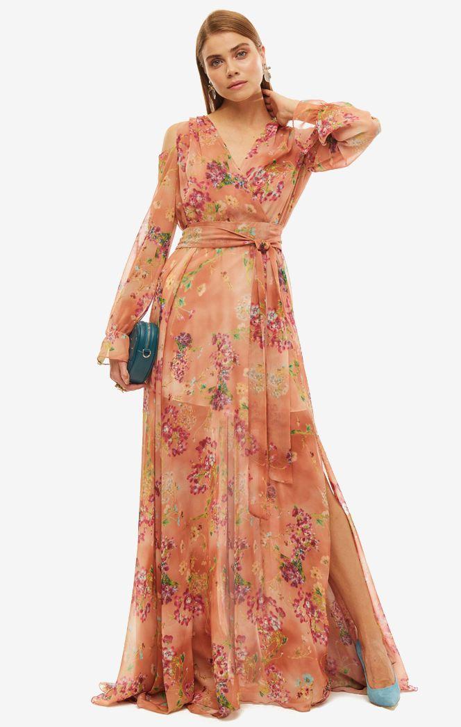 Платье женское ALISIA HIT коричневое